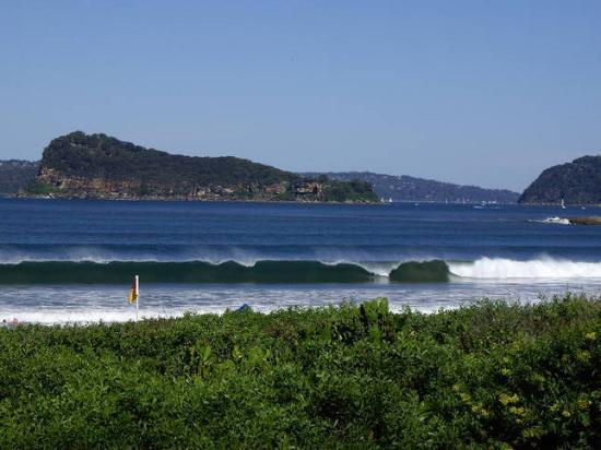 Pretty beach central coast