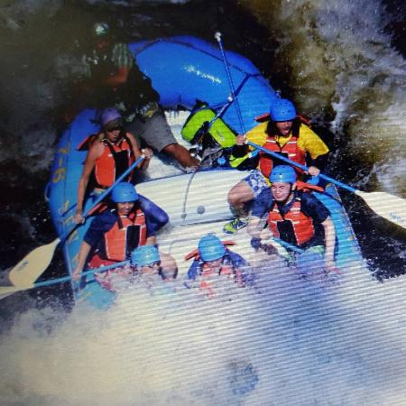 White Water Rafting NEOC: Hitting the waves with Andy (NEOC)