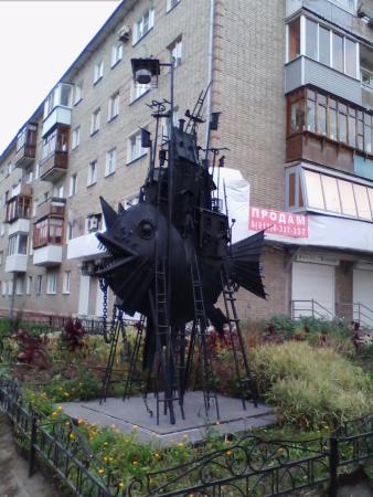 Скульптурная композиция Коммунальный карась