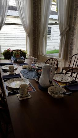 Baseball Bed and Breakfast: The Dining Room