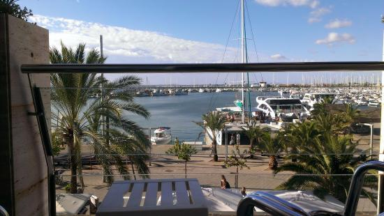Hostal Brisa Marina: Views from the balcony