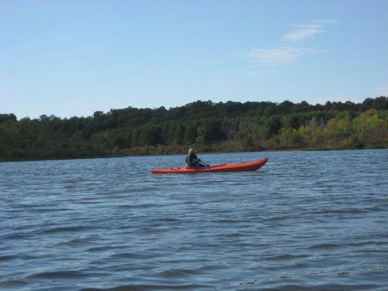 Little Cataraqui Creek Conservation Area: Open water