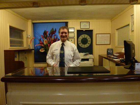 HRC Hotel : Carlos  Best Desk Clerk Ever