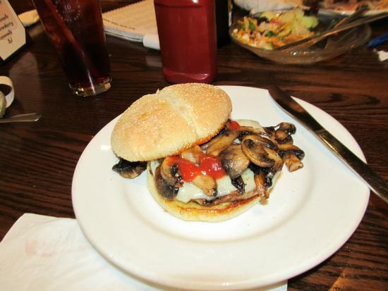 Horicon, WI: mushroom swiss