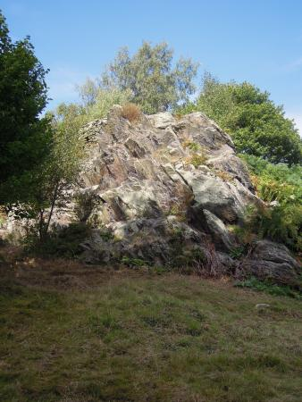 Leicestershire, UK: A volcanic outcrop
