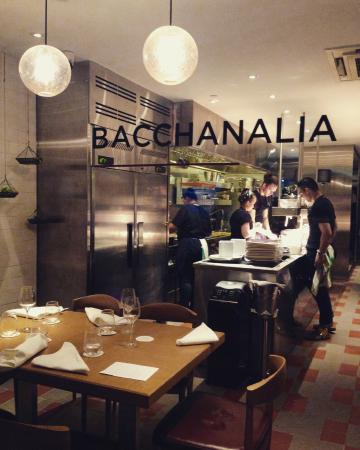 Open Kitchen Concept Restaurant Picture Of Bacchanalia
