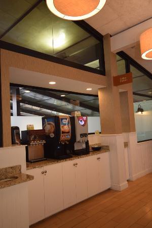 Best Western TLC Hotel : Cafe