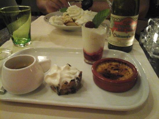 Le Grill Nicolas : café gourmand