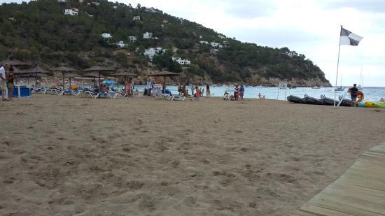 Sant Vicent de sa Cala, Spanje: Excepcional cor da agua