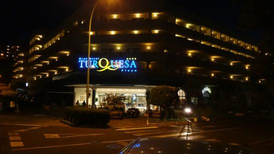 Gran Hotel Turquesa Playa : Entrance