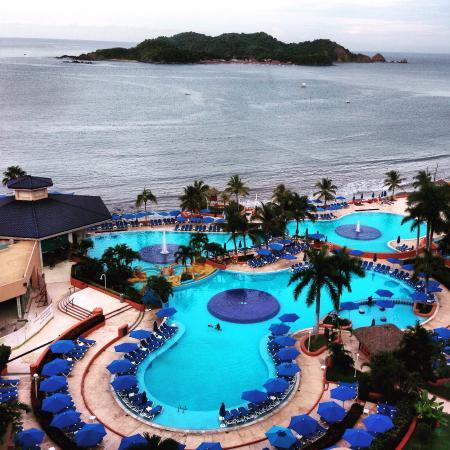 Azul Ixtapa Grand Spa & Convention Center: Vista desde el piso 18