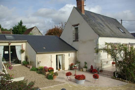 La Croix-en-Touraine, Francja: Sublime chambre d'hotes!
