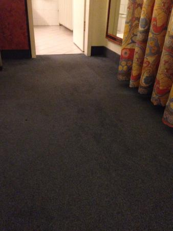 President Hotel: carpet stains