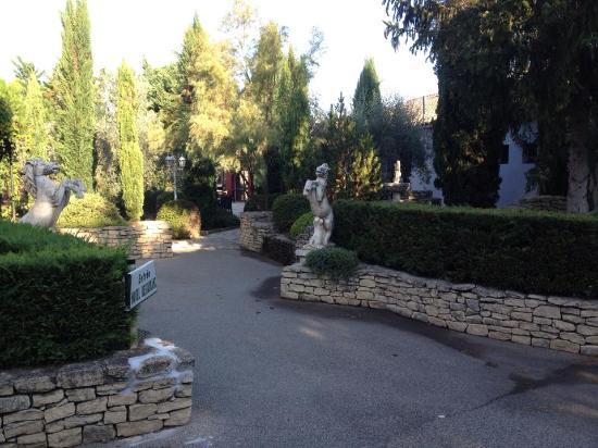 Saint-Andiol, ฝรั่งเศส: Entrée du restaurant