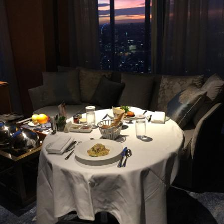The Shard Room Service