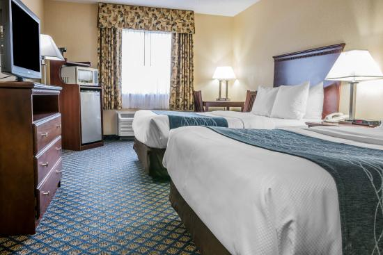 Comfort Inn Grand Blanc: Double Bed Room