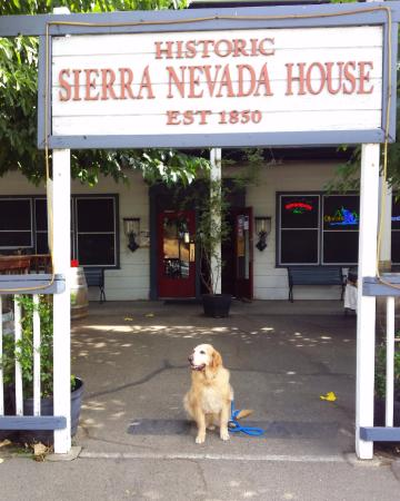 Coloma, CA: Dog friendly Sierra Nevada House
