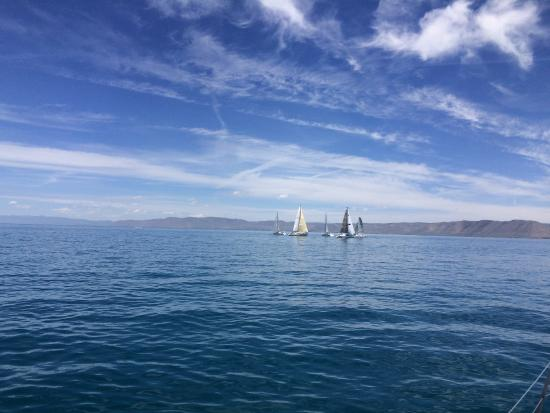 Garden City, UT: Sailing on Bear Lake