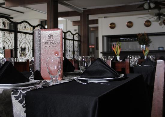 Hotel Lusitania: Restaurante Rincon Tipico