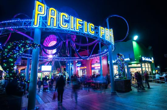 Photo of Tourist Attraction Pacific Park at 380 Santa Monica Pier, Santa Monica, CA 90401, United States