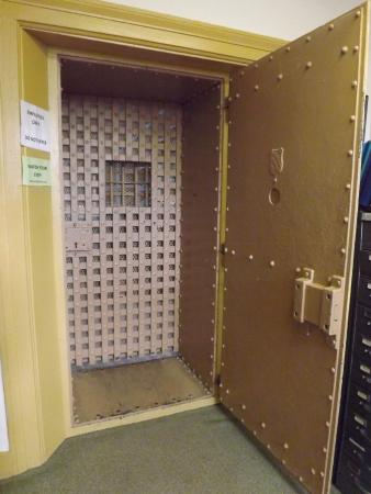 Logan County Archives and Genealogical Society Original Steel doors entering the old jail & Original Steel doors entering the old jail - Picture of Logan County ...