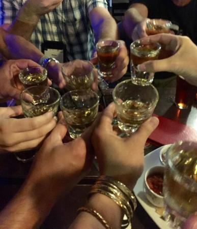 Gracie's Bar: All of us from outside Utah fell in love with Porter's Fire - cinnamon vanilla whiskey - sadly o