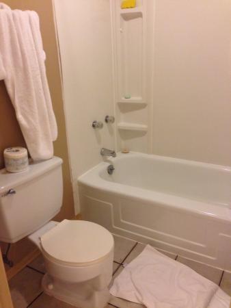 Maligne Lodge: Excelente ducha