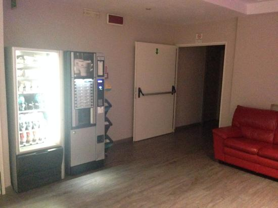 Hotel Ariston: Macchinette