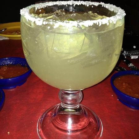 On the Border Mexican Grill & Cantina: Margarita on the rocks