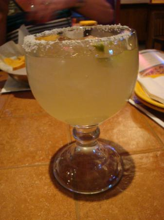 On the Border Mexican Grill & Cantina: On the Border Margarita on the rocks top shelf