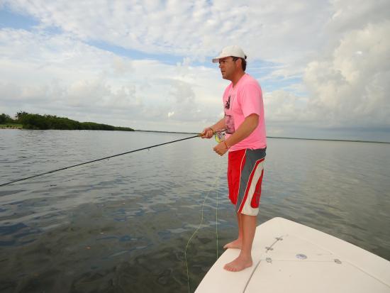 Tarpon fishing cancun picture of cancun tarpon fishing for Cancun fishing seasons