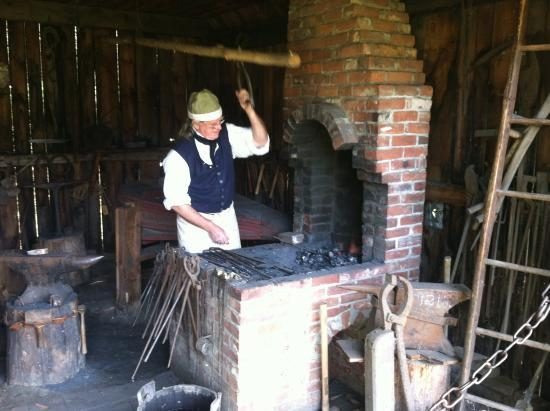 Charlestown, NH: Blacksmith
