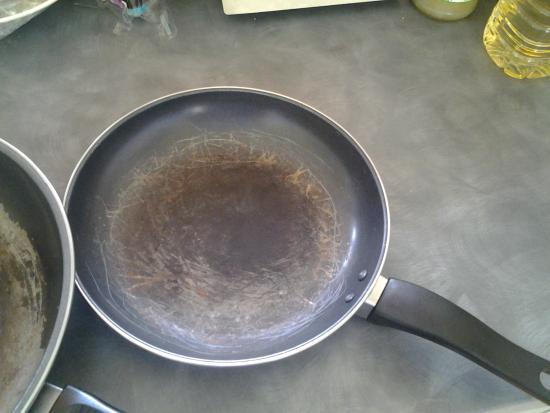 Thorpe On The Hill, UK: saucepan