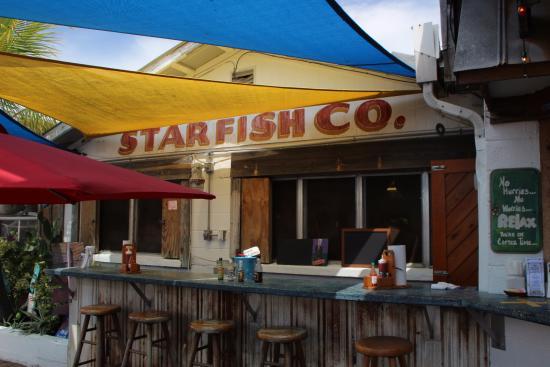 Star Fish Company Dockside Restaurant Starfish Co