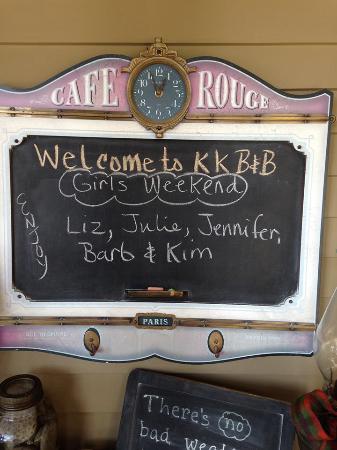 Korner Kottage Bed & Breakfast: Welcome!