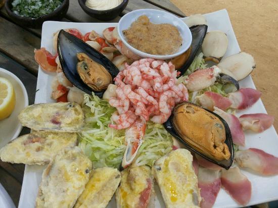 Restaurante Emeterio: Mix de Mariscos... genial!