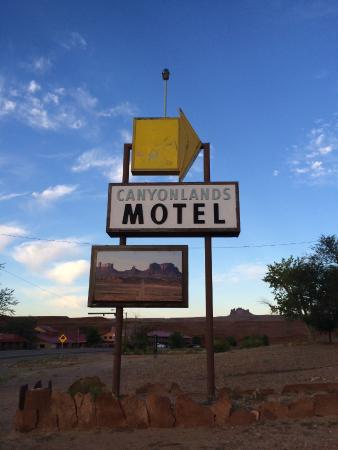 Canyonlands Motel in Mexican Hat