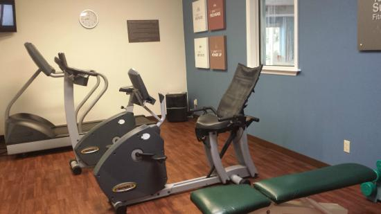 St Augustine Hotel & Suites: Fitness Center