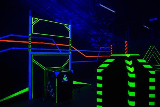 Laserbase Sindelfingen: Verstecke über Verstecke