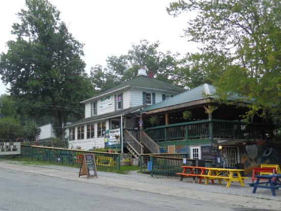 Yough Plaza Motel Ohiopyle Cafe Behind