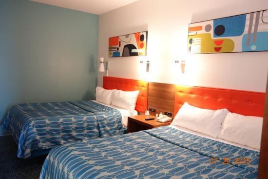 Universal's Cabana Bay Beach Resort: las camas comodas