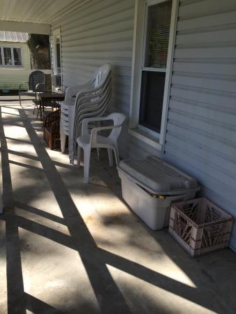 Verona Beach, État de New York : Front porch