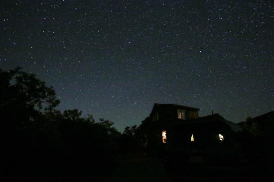 Whispering Oaks Ranch: Grey Dawn Cabin, Courtesy of Guest: Janet Stasney