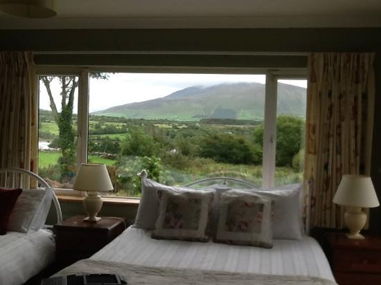 Cloghane, Irlanda: the view from the bedroom