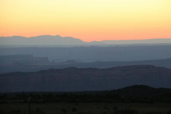 Whispering Oaks Ranch: Moab Rim View - Courtesy of Janet Stasney