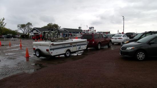 Big Bay State Park: bayfield ferry landing