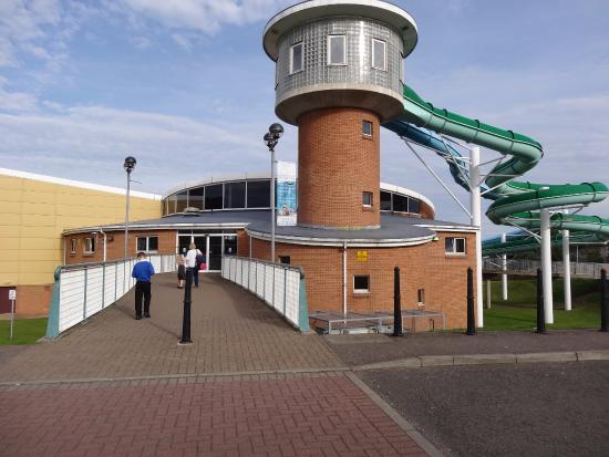 Entrance Picture Of Beacon Leisure Centre Burntisland
