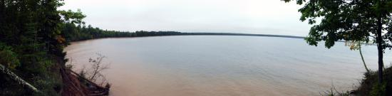 Apostle Islands, WI: big bay beach