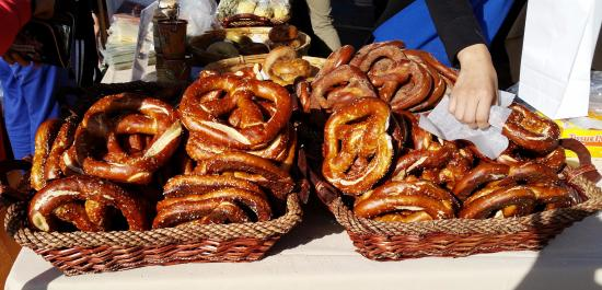 French Market : Pretzels...