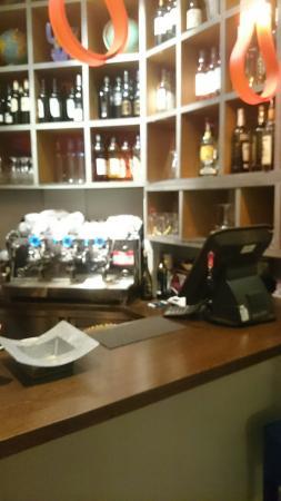 Couby's Café: Le comptoir